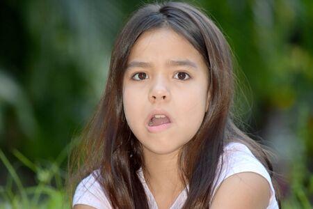 Surprised Petite Filipina Female Juvenile