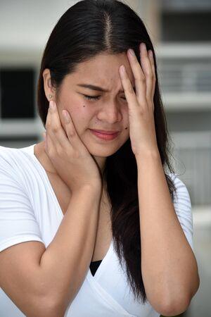 An Anxious Asian Person