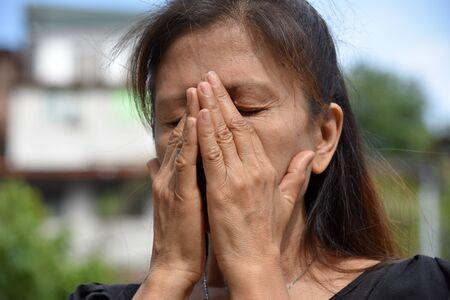 A Shameful Female Senior