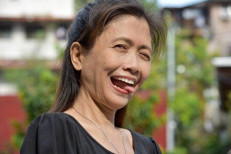 An Insane Filipina Person