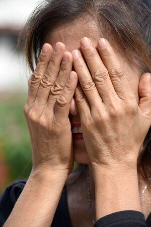 A Depressed Filipina Person
