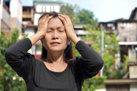A Minority Female Senior Under Stress