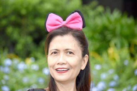 A Senior Asian Grandma Portrait