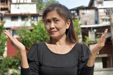 An Indecisive Female Senior