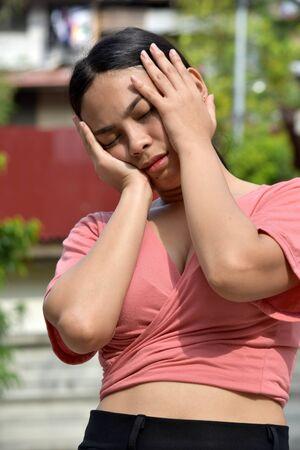 A Filipina Female Under Stress
