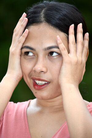 An Anxious Beautiful Minority Person