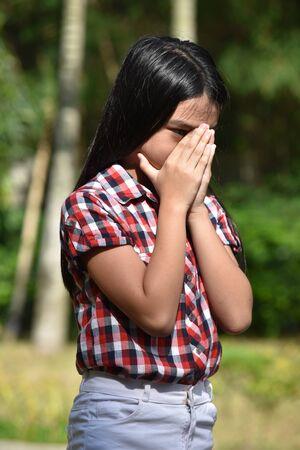 An Adolescent And Failure Stok Fotoğraf