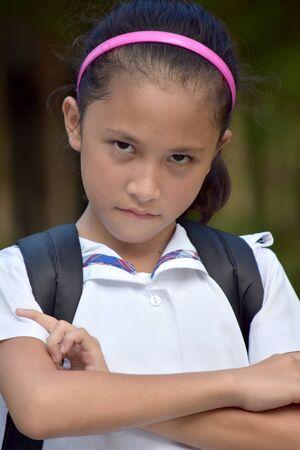 A Stubborn Pretty Filipina Person