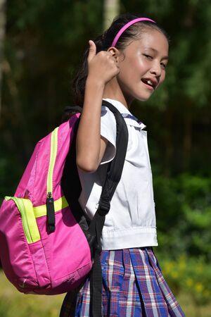 An A Friendly Filipina Person