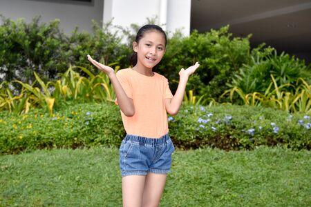 An Undecided Pretty Filipina Person