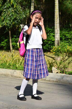 A Minority Female Student Under Stress