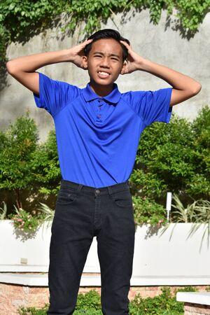 A Teenage Male Under Stress