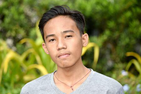 An An Unemotional Asian Male