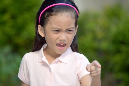 A Girl Child And Anger