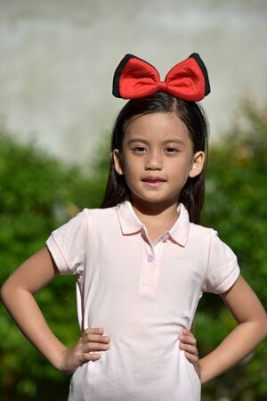 A Youthful Filipina Juvenile And Confidence