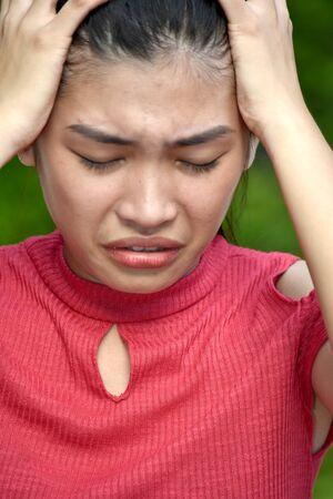 A Minority Girl Under Stress