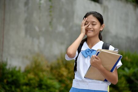 A Shy Female Student