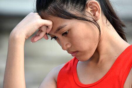 An An Unhappy Asian Person