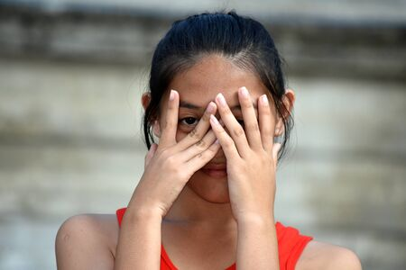 A Filipina Female And Abuse