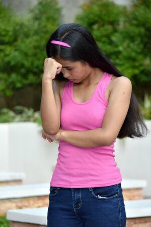 A Sad Beautiful Asian Person