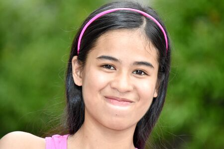 A Beautiful Filipina Female And Anger