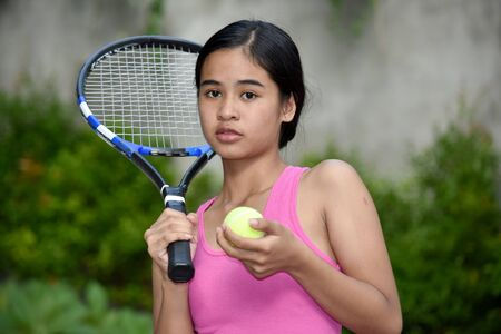 An An Unemotional Sporty Filipina Person Imagens - 131527224