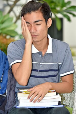 An Unhappy Filipino Student