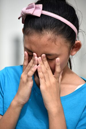 A Teen Girl With Allergies