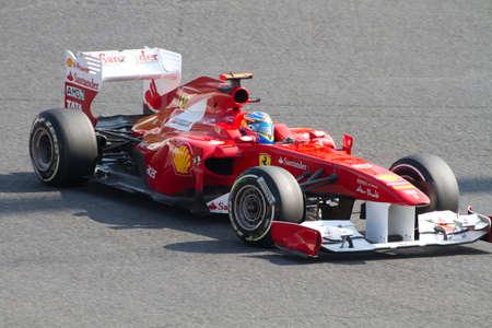 SUZUKA, JAPAN - OCTOBER 7 : Felipe Massa of Ferrari during free practice at 2011 Formula 1 Japanese Grand Prix on October 7, 2011 in Suzuka, Japan.