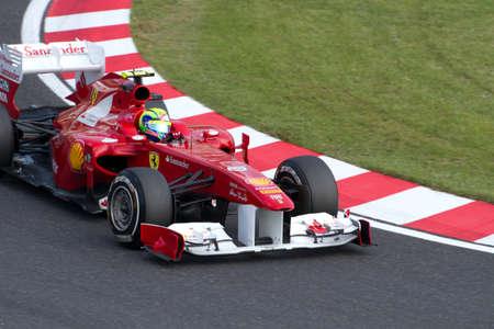 massa: SUZUKA, JAPAN - OCTOBER 7 : Felipe Massa of Ferrari during free practice at 2011 Formula 1 Japanese Grand Prix on October 7, 2011 in Suzuka, Japan.