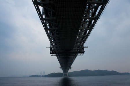 honshu: Great Seto Bridge connecting Honshu and Shikoku islands in Japan