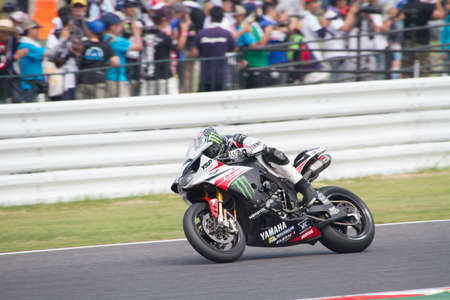 SUZUKA, JAPAN - July 28   Rider of MONSTER YAMAHA -YART  8th  racing at 2013 Suzuka 8 hours World Endurance Championship Race, on July 28, 2013 in Suzuka Circuit, Japan  報道画像