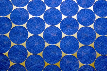 air filter: Close-up of reinforced home air conditioner or furnace filter