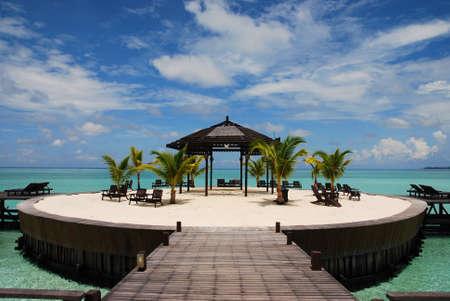 Remote island in the Celebes Sea photo