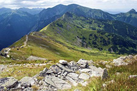 Tatry mountains, Tatry national park Stock Photo