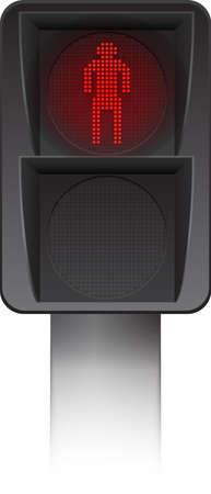 pedestrian: Pedestrian Traffic light Led backlight