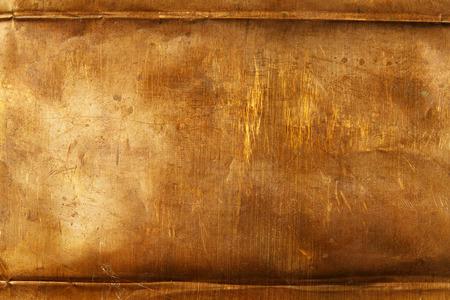 oxidado: Resumen de antecedentes de la hoja de metal de bronce Foto de archivo