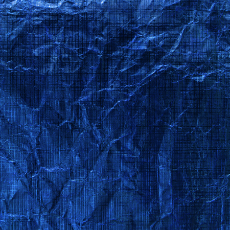 irradiation: Background from blue metallic paper
