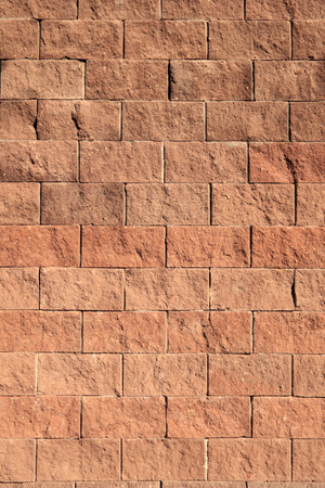 man made structure: Wall from stone