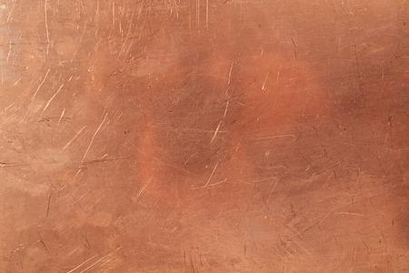 Brazen background from metal-clad glass textolite Archivio Fotografico