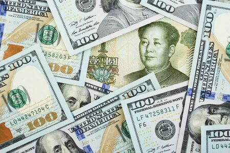 one hundred dollars: Yuan among one hundred dollars