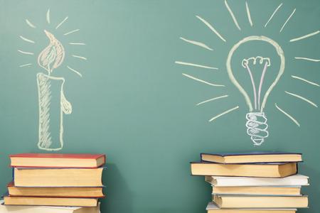 evolucion: Educación idea sobre la historia y desarrollo de la civilización y la ciencia