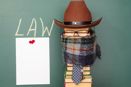 parody: Joke law concept