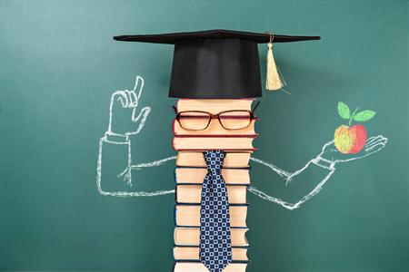 Funny education invention idea joke Standard-Bild