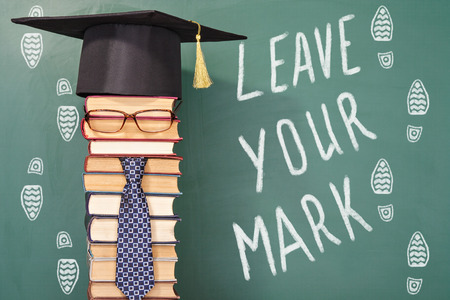 improbable: Leave your mark, funny education concept 2