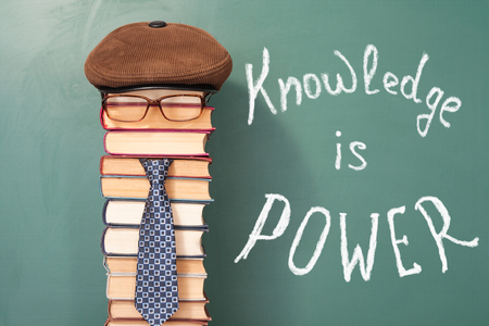 attainments: Knowledge is Power education funny concept