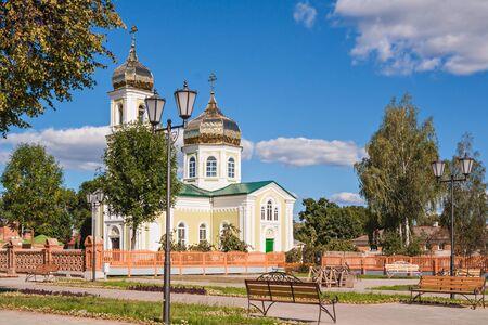 Church of St. Alexander Nevsky in Mstislavl, Belarus Stock Photo