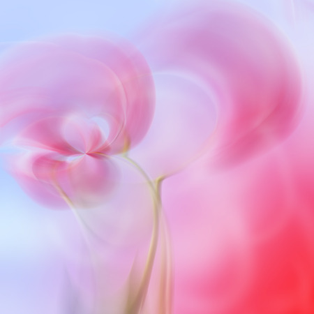 Art abstract floral blur pattern