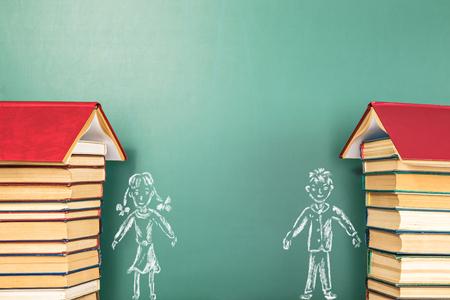 Education concept, school Friends