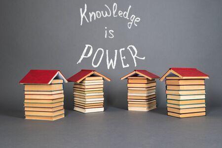 Education concept. Knowledge is power Foto de archivo